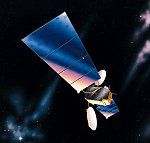 Lockheed Martin A2100 satellite illustration