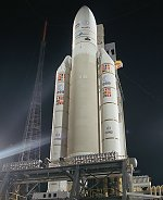 Ariane 5 prior to flight 160 launch (Arianespace)