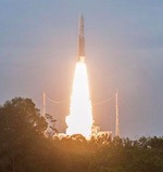 Ariane 5 launch of Eutelsat 8 West B and Intelsat 34 (Arianespace)