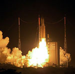Ariane 5 launch of Thaicom 4 (ESA/CNES/Arianespace)