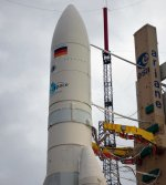 Ariane 5 v194 on pad before launch (Arianespace)