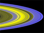 Cassini UV image of Saturn rings (NASA/JPL)