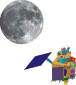 Chandrayaan 1 illustration (ISRO)