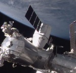 Dragon berthing to ISS on SpX-5 mission (NASA