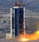Long March 2D launch of two SuperView-1 satellites (Xinhua)