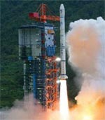 Long March 3A launch of Change-1 (Xinhua)