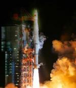 Long March 3A launch of Compass satellite (Xinhua)