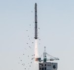 Long March 4C launch of Yaogan 16 (Xinhua)