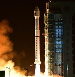 Long March 4C launch of Yaogan 33 (Xinhua)