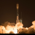 Delta 2 launch of SMAP (NASA)