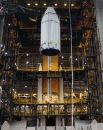 Delta 4 prepared for NROL-25 launch (ULA)