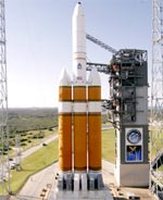 Delta 4 Heavy before DSP-23 launch (ULA)