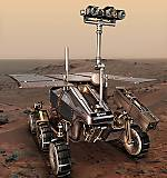 ExoMars rover illustration (ESA)