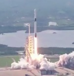 Falcon 9 launch of Bangabandhu-1 (SpaceX)