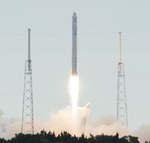 Falcon 9 launch of CRS-2 mission (NASA/KSC)
