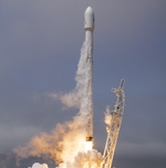 Falcon 9 launch of Formosat-5 (SpaceX)