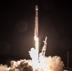 Falcon 9 launch of Iridium-4 (SpaceX)