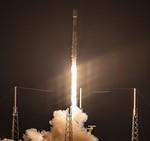 Falcon 9 SpaceX Starlink launch, early June 2020 (SpaceX)