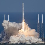 Falcon 9 launch of Thaicom-8 (SpaceX)