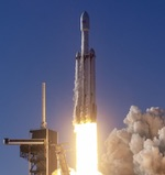 Falcon Heavy launch of Arabsat-6A (SpaceX)