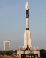 GSLV-D3 prior to launch (ISRO)