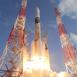 H-2A launch of Telsat 12 Vantage (MHI)
