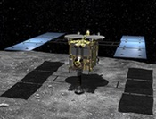 Hayabusa-2 illustration (JAXA)