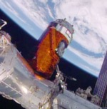 HTV-5 berthed to ISS (NASA)