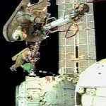ISS spacewalk by Onufrienko and Walz (NASA)