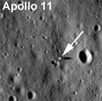 LRO image of Apollo 11 site (NASA)