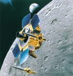 Lunar-A spacecraft illustration (JAXA)