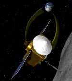 OSIRIS-REx spacecraft illustration (NASA)