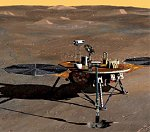 Phoenix Mars lander illustration (Univ. of Arizona)
