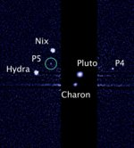 Pluto P5 moon in July 2012 (STScI)