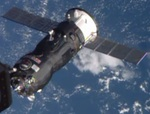 Progress M-25M docking with ISS (NASA)