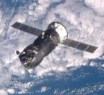Progress M-23M approaching the ISS (NASA)