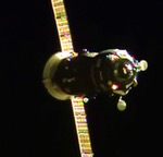 Progress M-28M on approach to ISS (NASA)