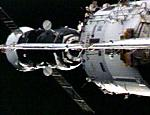 Progress M-60 docking with ISS (NASA)