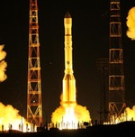 Proton M launch of Express-AM8 (Roscosmos)