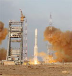 Proton M launch of GLONASS satellites Dec 09 (Roskosmos)