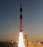 PSLV launch of SARAL (ISRO)