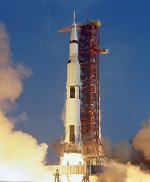 Saturn 5 launch of Apollo 11 (NASA)