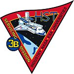 Hubble Servicing Mission 3B patch
