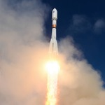 Soyuz-2.1b launch of Russian military satellite, May 2020 (Russian MoD)