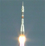 Soyuz TMA-16 launch (NASA)