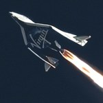 SpaceShipTwo third powered flight (MARS Scientific/Clay Center Observatory)