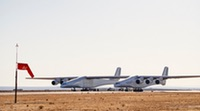 Stratolaunch aircraft taxi test (Stratolaunch)