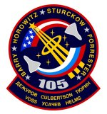 STS-105 patch