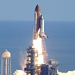 STS-107: launch (NASA/KSC)