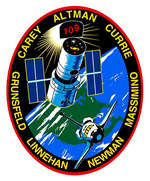 STS-109 patch (NASA)